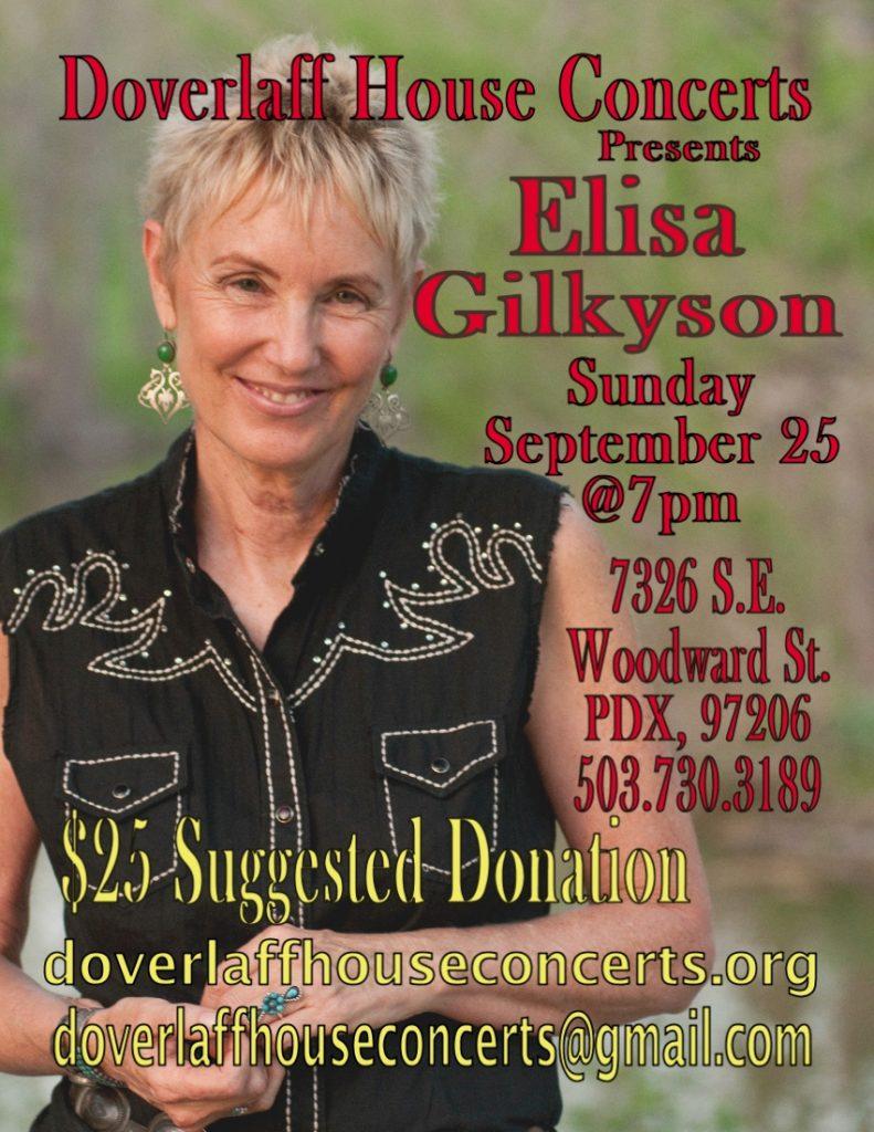 Elyza Gilkyson HC Poster-001